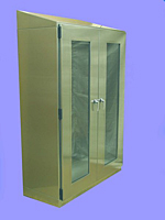 stainless steel garment locker